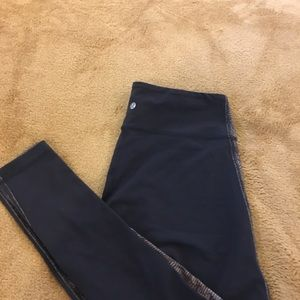 lululemon athletica Pants - NWOT/ Lululemon Wunder Under pants in brown/ black
